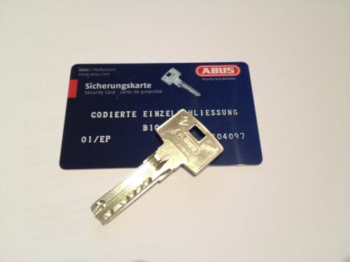 Bravus1000 STF Nachschlüssel nach Code B1
