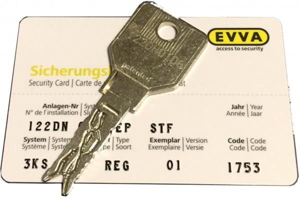 EVVA 3KS plus STF Nachschlüssel