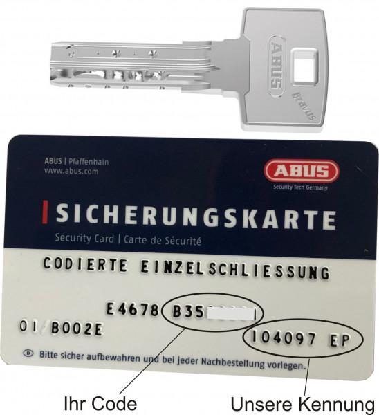 Bravus3500 Magnet Nachschlüssel nach STF Code