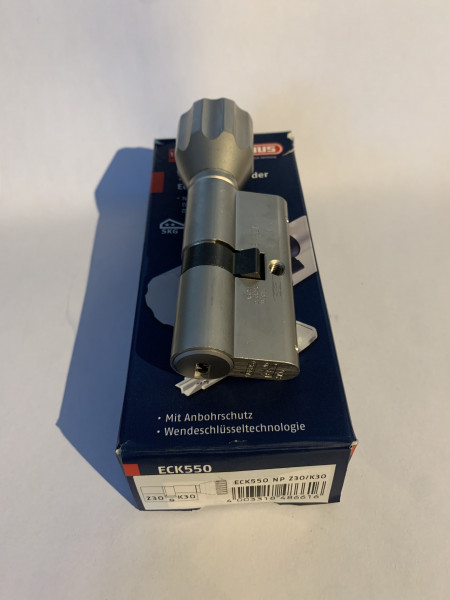 ABUS ECK550 Z30/K35mm mit 6 Schlüssel, #SALE 249