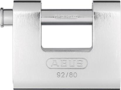 ABUS Monoblock Vorhangschloss 92/80