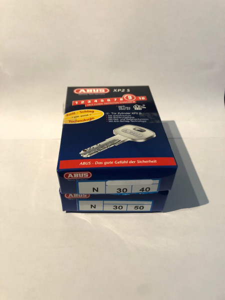 ABUS XP2S 30/40mm + 30/50mm gleichschließend #SALE 7
