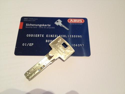 Bravus2000 STF Nachschlüssel nach Code B2